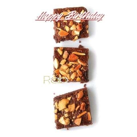 Happy Birthday Cake for Rab