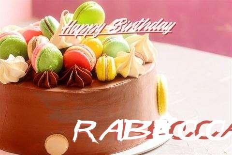 Happy Birthday Cake for Rabecca
