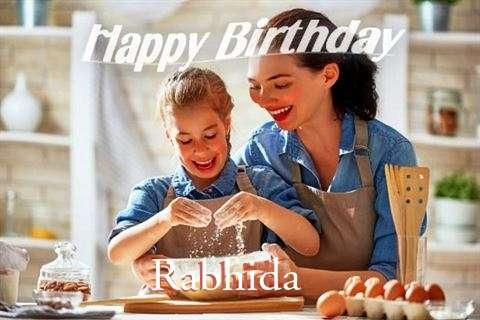 Birthday Wishes with Images of Rabhida
