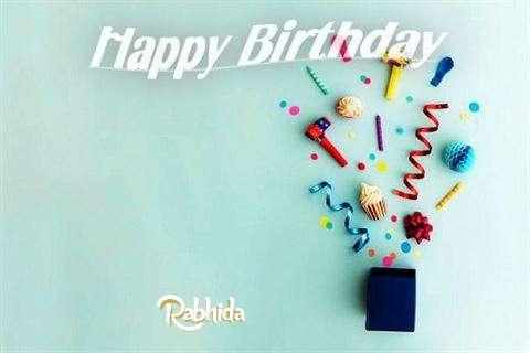 Happy Birthday Wishes for Rabhida