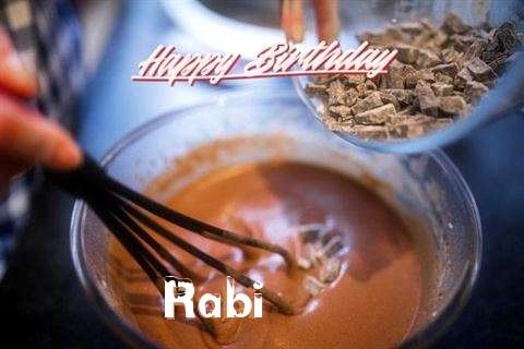 Happy Birthday Rabi Cake Image