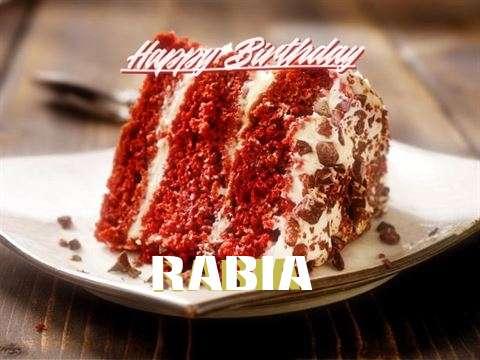 Happy Birthday to You Rabia