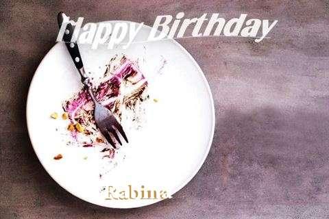 Happy Birthday Rabina