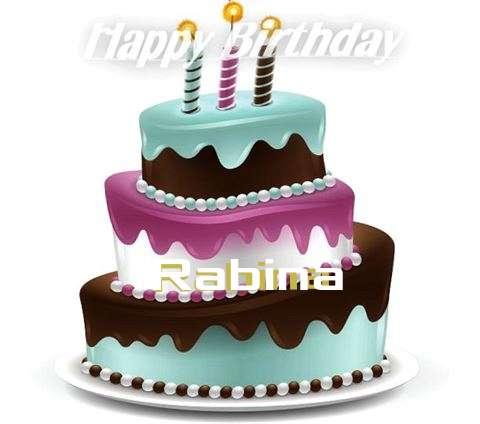 Happy Birthday to You Rabina