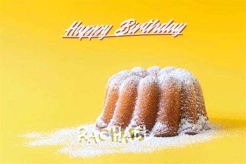 Happy Birthday Rachael