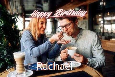 Happy Birthday Rachael Cake Image