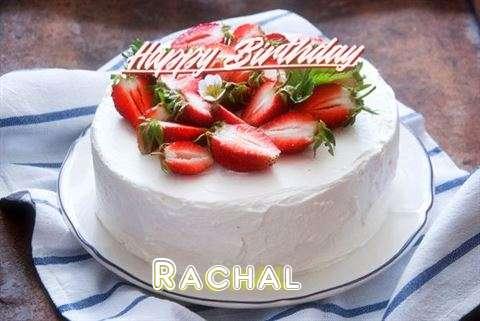 Happy Birthday Cake for Rachal