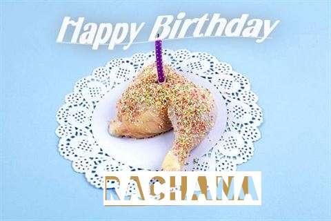 Happy Birthday Rachana