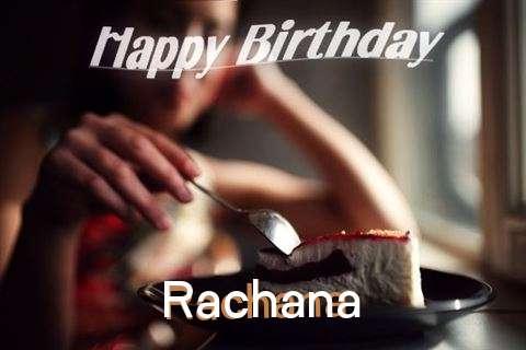 Happy Birthday Wishes for Rachana