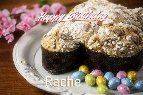 Happy Birthday Wishes for Rache