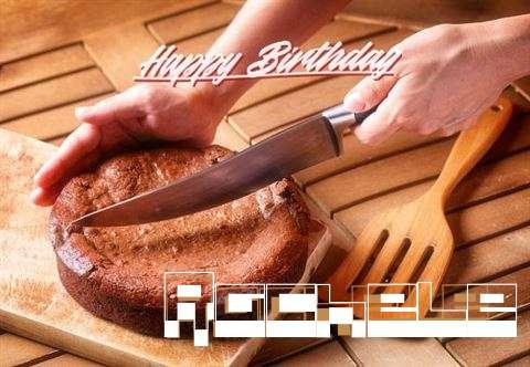 Happy Birthday Rachele Cake Image