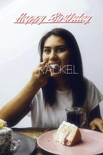 Happy Birthday to You Rackel