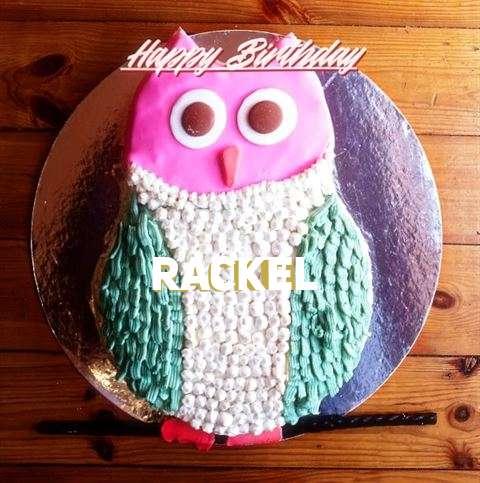Happy Birthday Cake for Rackel