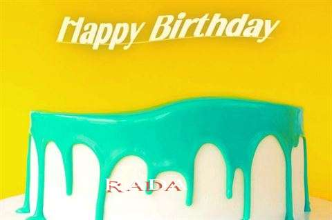 Happy Birthday Rada Cake Image