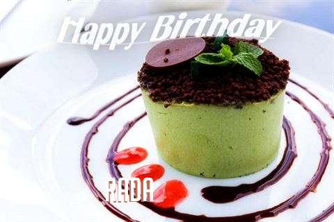 Happy Birthday to You Rada