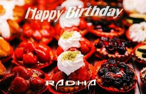 Happy Birthday Cake for Radha