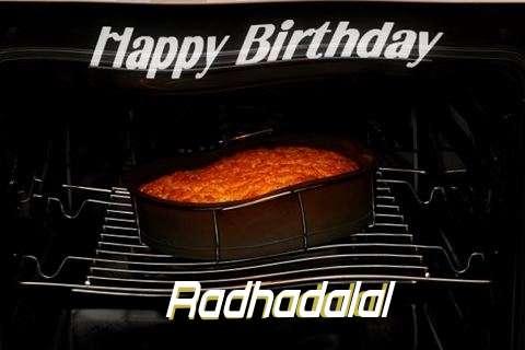 Happy Birthday Radhadalal Cake Image
