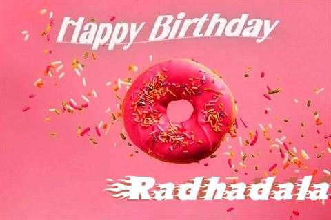 Happy Birthday Cake for Radhadalal