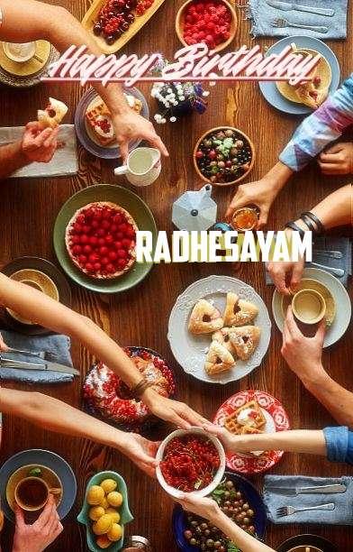 Birthday Wishes with Images of Radhesayam