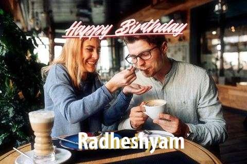 Happy Birthday Radheshyam Cake Image