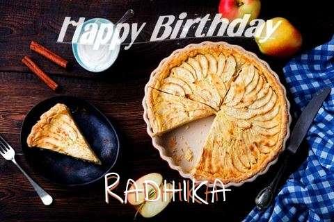 Birthday Wishes with Images of Radhika