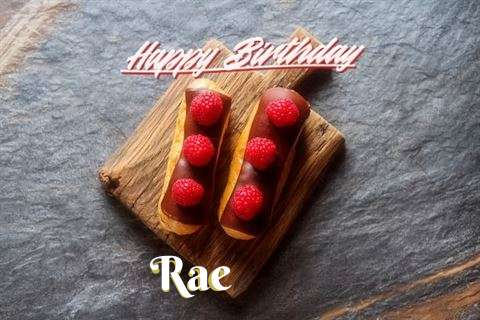 Happy Birthday to You Rae