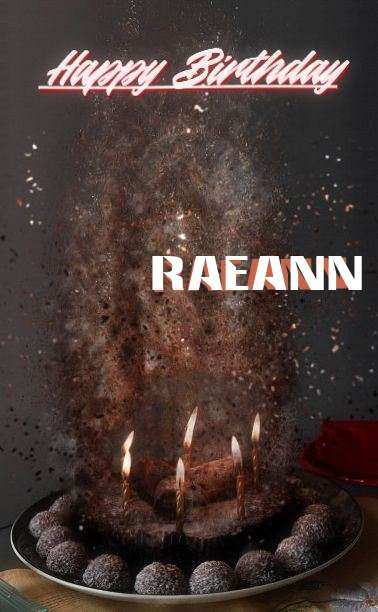 Happy Birthday Cake for Raeann