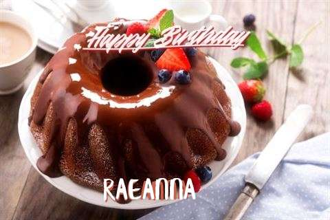 Happy Birthday Raeanna Cake Image