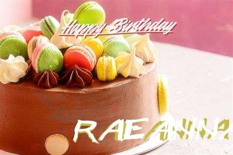 Happy Birthday Cake for Raeanna