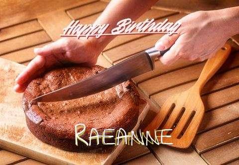 Happy Birthday Raeanne Cake Image