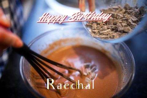 Happy Birthday Raechal Cake Image