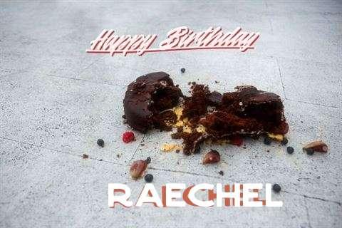 Happy Birthday Raechel
