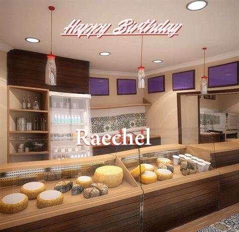 Happy Birthday Raechel Cake Image