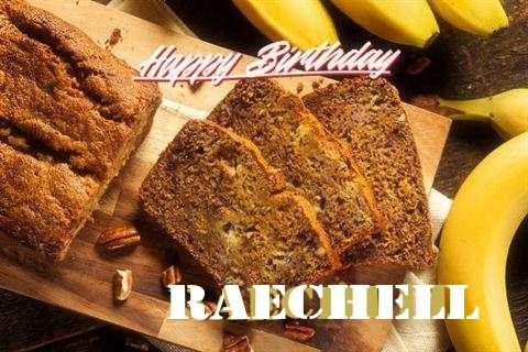 Happy Birthday Raechell Cake Image