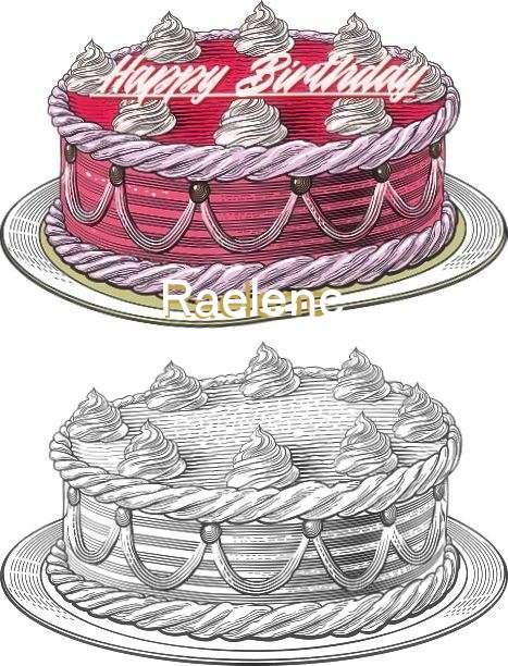 Happy Birthday Raelene Cake Image