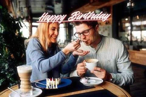 Happy Birthday Raf Cake Image