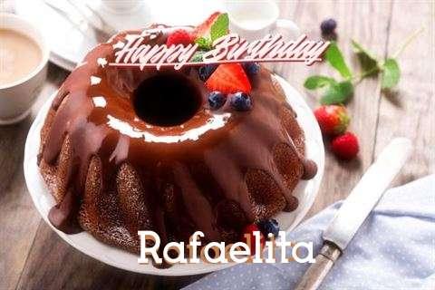 Happy Birthday Rafaelita Cake Image