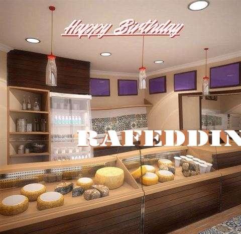 Happy Birthday Rafeddin Cake Image