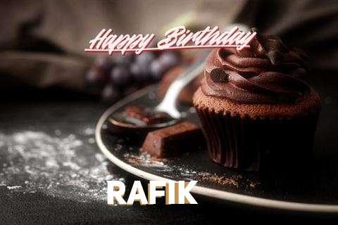 Happy Birthday Wishes for Rafik