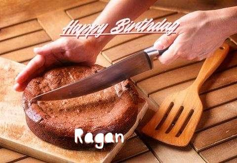 Happy Birthday Ragan Cake Image