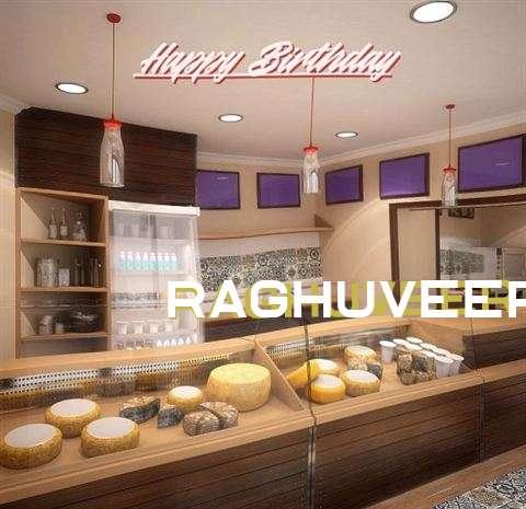 Happy Birthday Raghuveer Cake Image