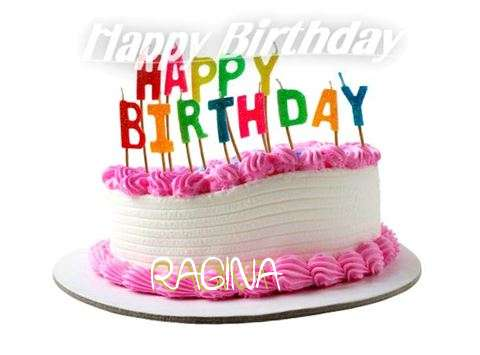 Happy Birthday Cake for Ragina
