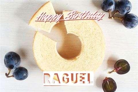 Happy Birthday Raguel Cake Image