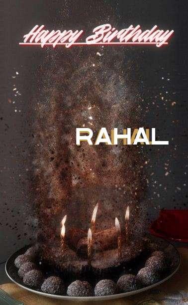 Happy Birthday Cake for Rahal