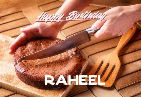 Happy Birthday Raheel Cake Image