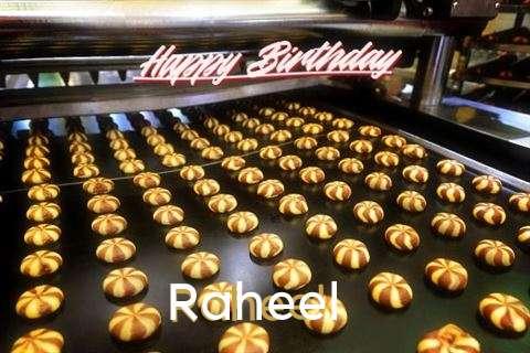 Happy Birthday Cake for Raheel