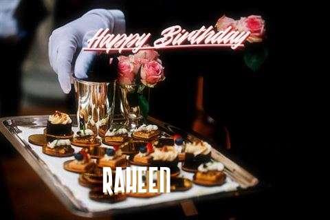 Happy Birthday Wishes for Raheen