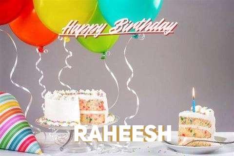 Happy Birthday Cake for Raheesh