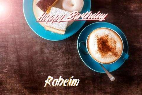 Birthday Images for Raheim