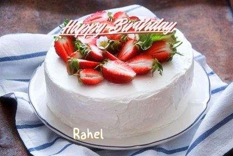 Happy Birthday Cake for Rahel